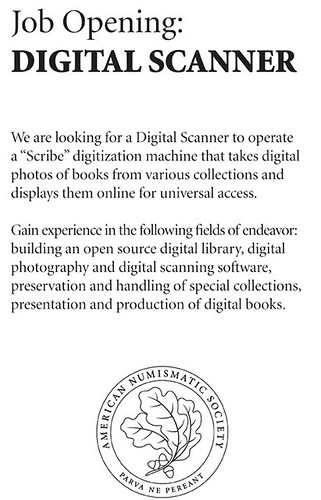 ANS Digital Scanner job opening