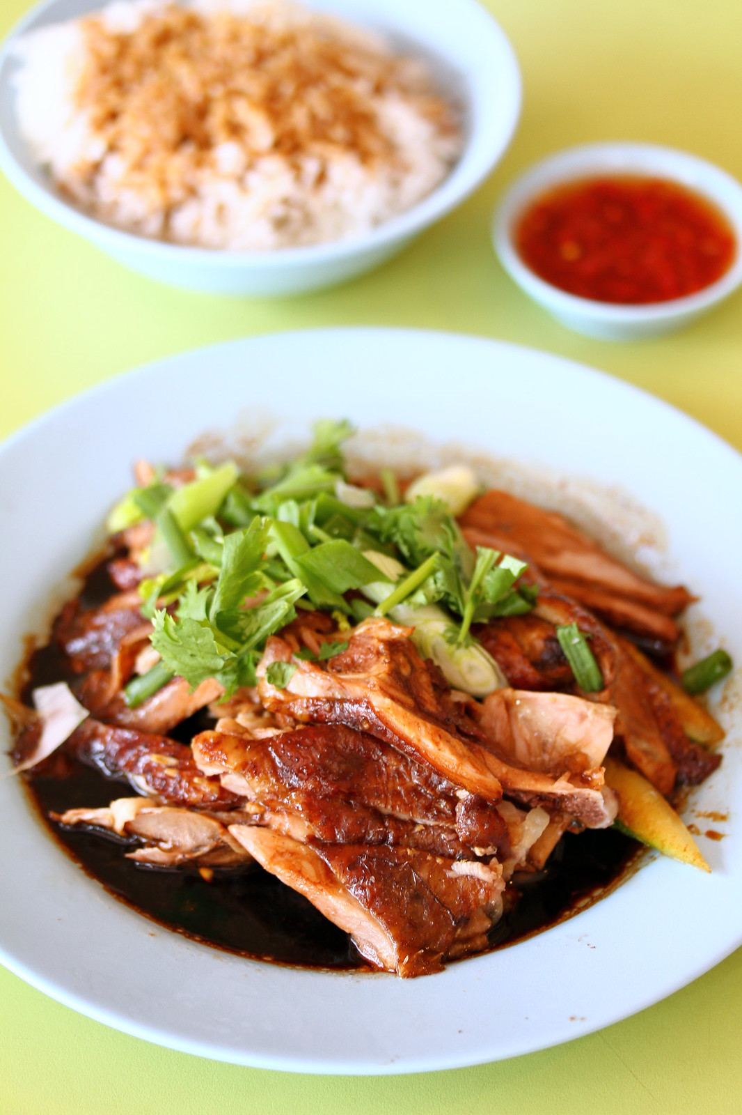 Braised Duck Rice: Heng Gi Goose & Duck Rice