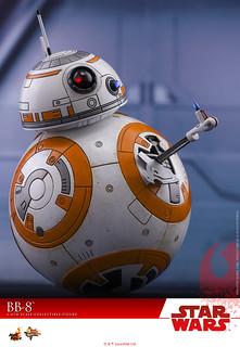Hot Toys - MMS440 - 《星際大戰:最後的絕地武士》1/6 比例 BB-8 Star Wars: The Last Jedi