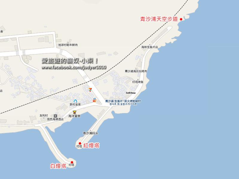 青沙浦地圖