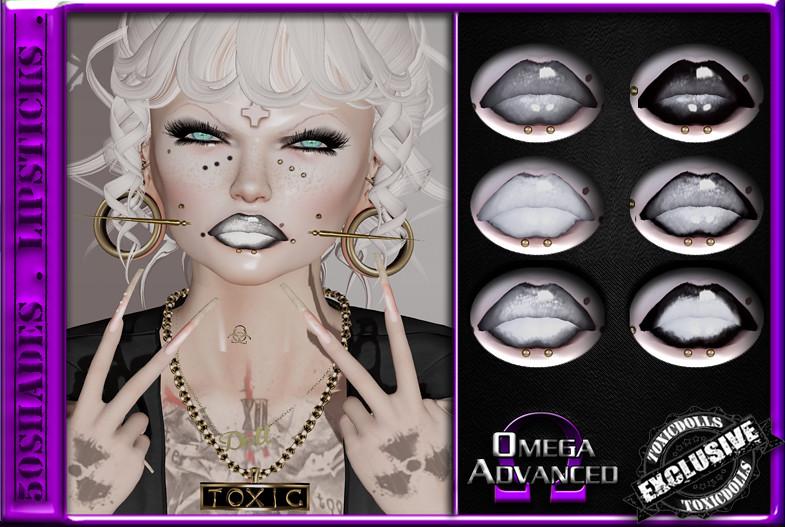 [TD] 50Shades Lipsticks - TeleportHub.com Live!