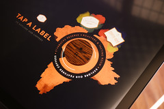 Custom Wooden Tangible for the Starbucks Interactive Coffee Experience