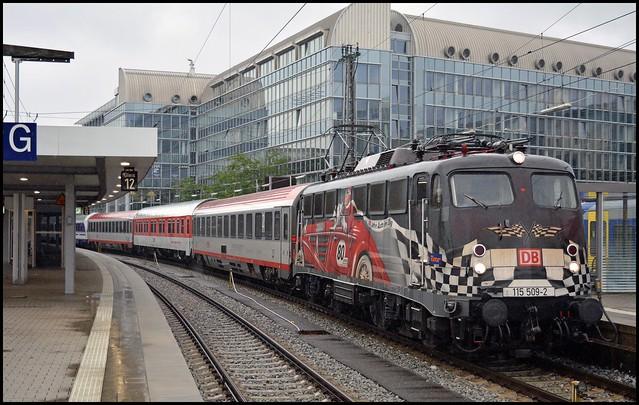 DB Fernvekehr 115 509 | München Hbf