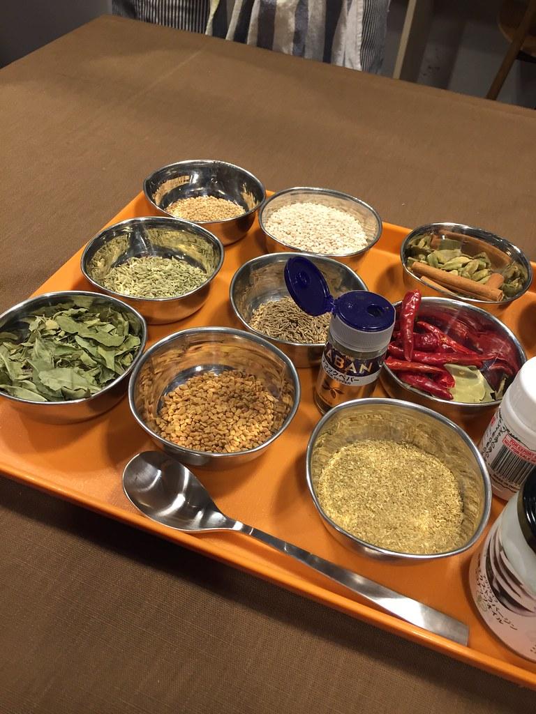 南インド料理を作って食べるイベント!