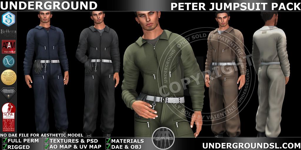 UG MESH PETER JUMPSUIT
