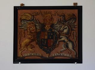 Queen Anne royal arms
