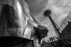 Museum of Pop Culture & Space Needle, Seattle