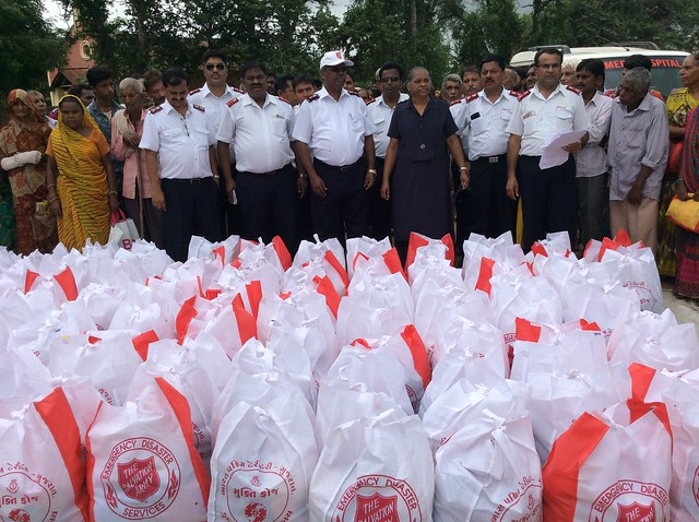 The Salvation Army responds to widespread flooding in South Asia