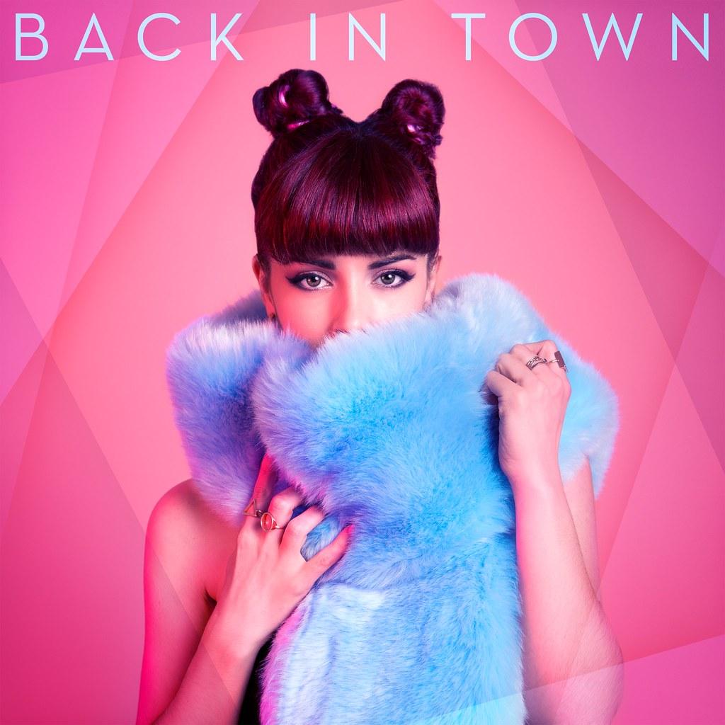 MIMICAT - Back in Town - capa disco