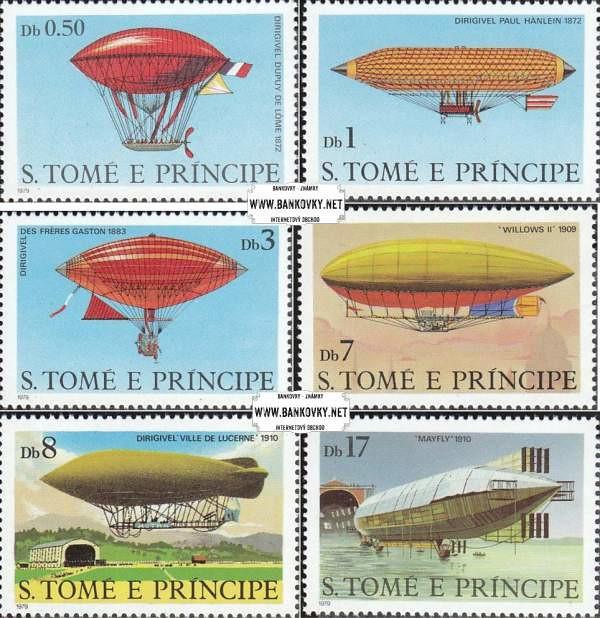 Známky Svätý Tomáš 1979 Vzducholode