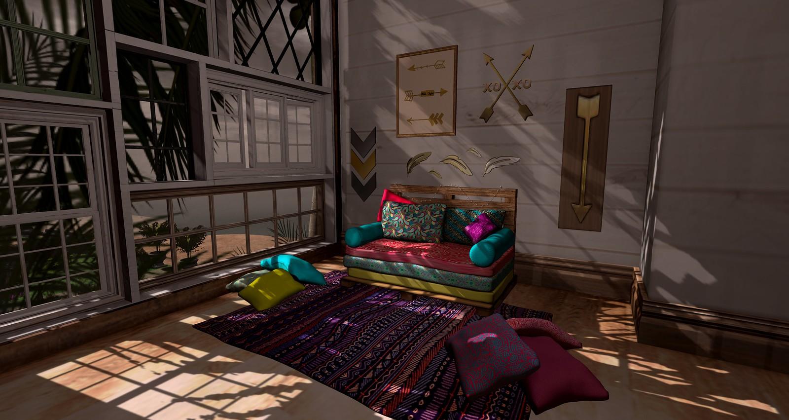 Boho Room set