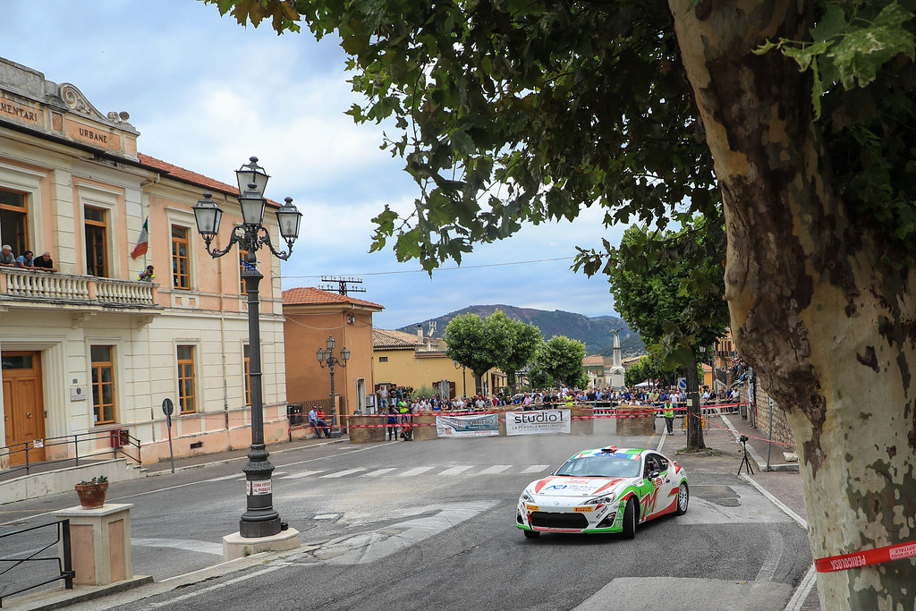 39 PISANI Gianandrea (ITA) MIGLIORATI Alessio (ITA) Toyota GT86 R3 action during the 2017 European Rally Championship ERC Rally di Roma Capitale,  from september 15 to 17 , at Fiuggi, Italia - Photo Jorge Cunha / DPPI