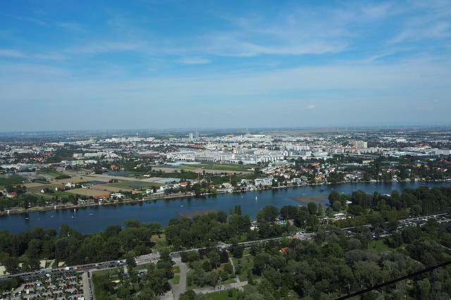 View from Danauturm, Vienna