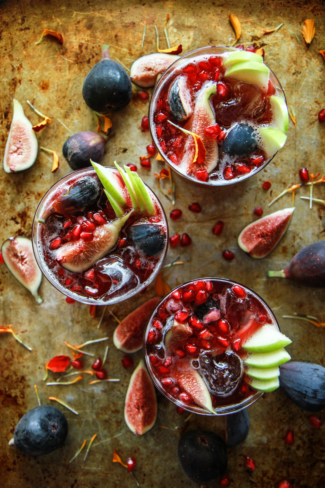Autumn Sangria from HeatherChristo.com