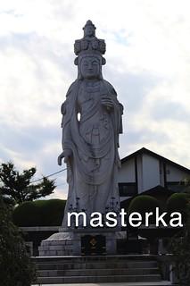 三宝寺の銅像22