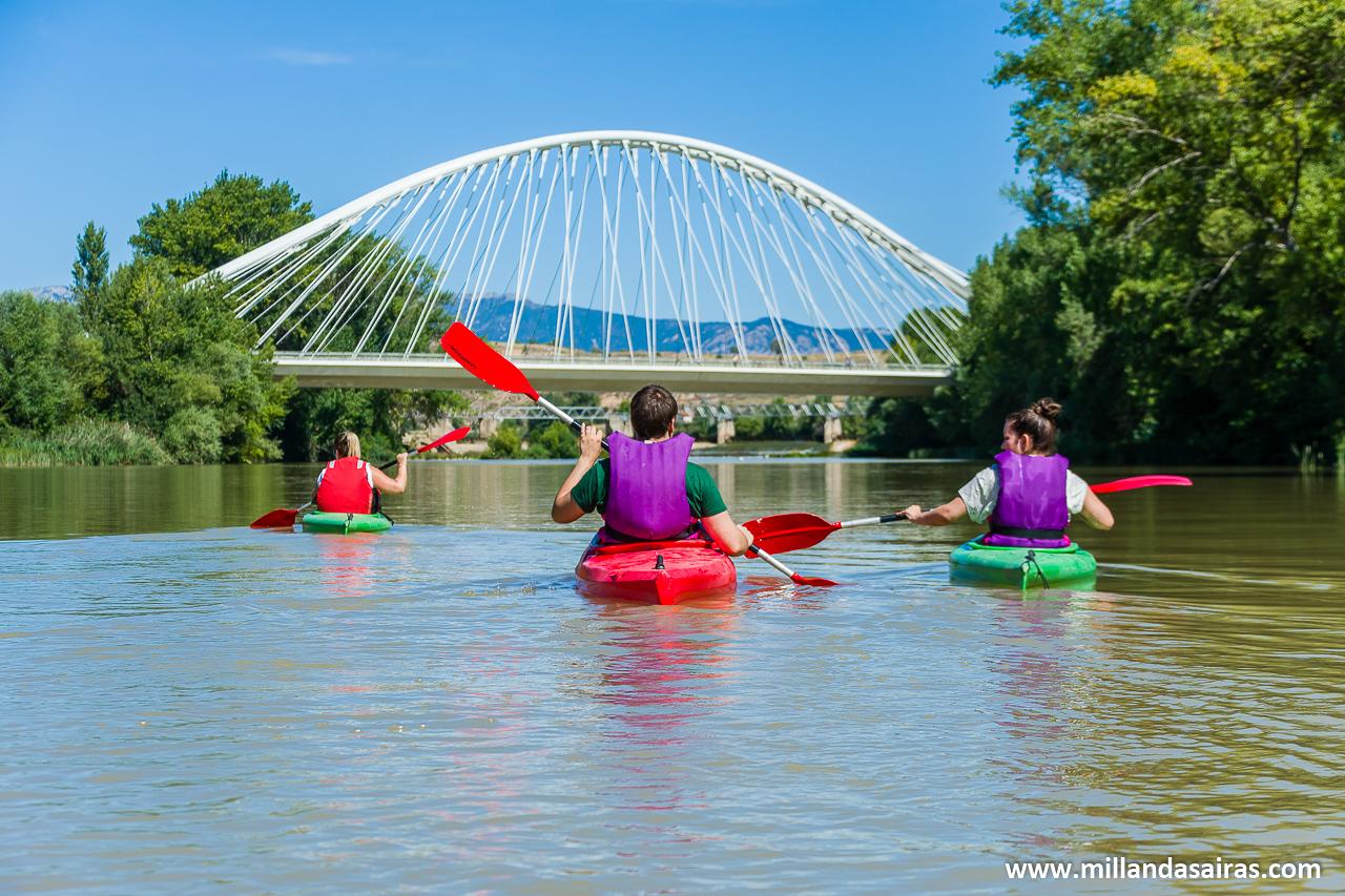 Kayak por el Ebro