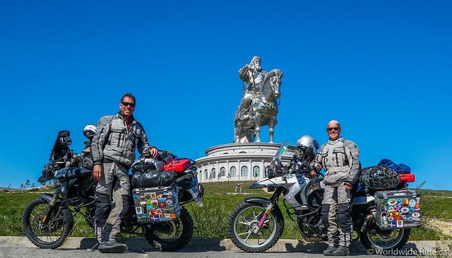 Mongolia Chiggis Khan Monument