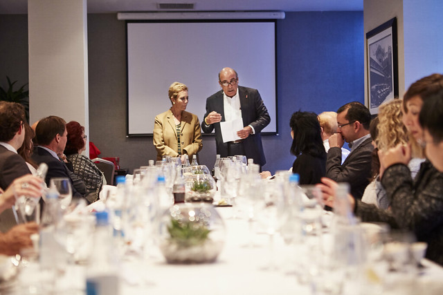 Muhtar Kent Lunch & Masterclass September 2017
