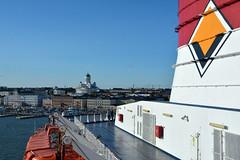 Helsinki from Viking Line ferry