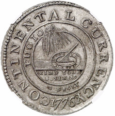 Continental Dollar in Tin
