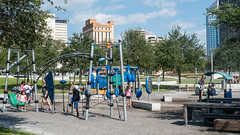 Children playing at Curtis Hixon Waterfront Park