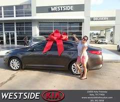 #HappyBirthday to Ramona from Rubel Chowdhury at Westside Kia!