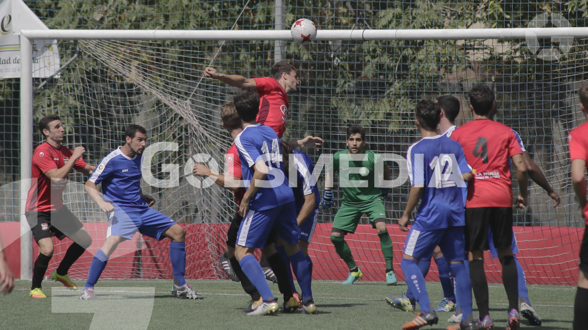 CF Recambios Colón Catarroja 2 - 2 CF La Nucía