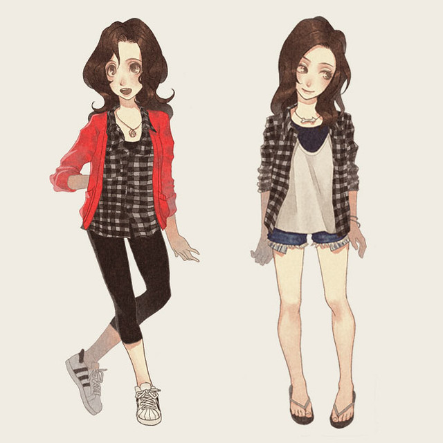 plaid outfit inspiration