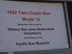 1932 Twin Coach Bus Info