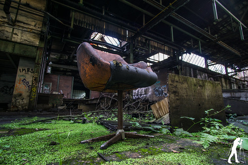 Lost Places: Messer- und Klingenfabrik