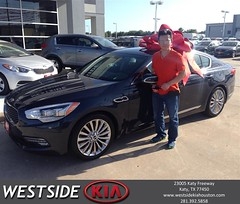 #HappyBirthday to Hiep from Rick Hall at Westside Kia!