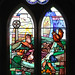 Memorial window to Guy Canby