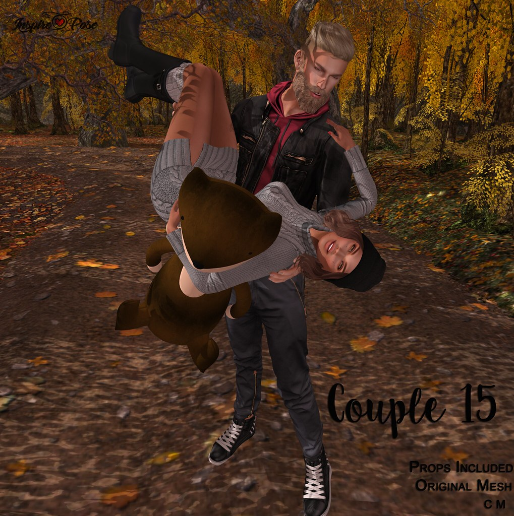 Inspire Pose - Couple 15 - TeleportHub.com Live!