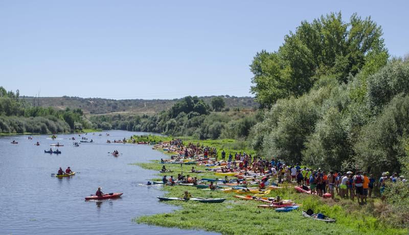 Coria incrementará los contenedores en la zona del descenso del río Alagón y en el casco histórico el Jueves Turístico