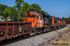 IC 9607   EMD GP38-2   NS Memphis District
