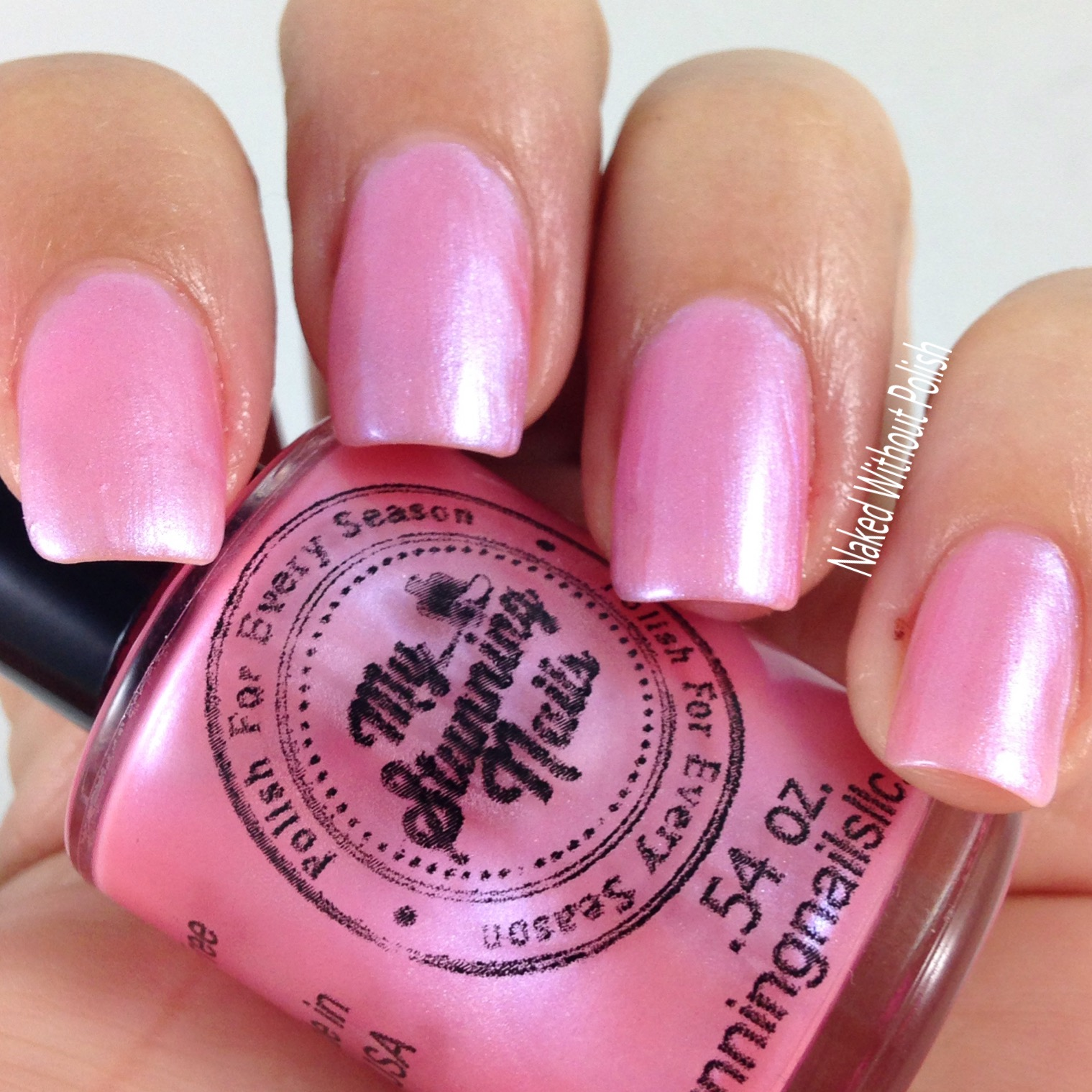 My-Stunning-Nails-Strawberry-Macaroon-5
