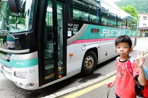 搭JR巴士回青森