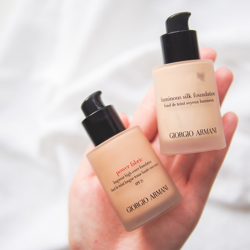 Armani Power Fabric Foundation