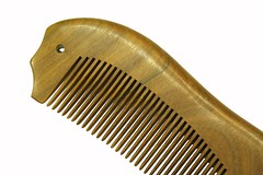 Made in USA wooden comb by Icomb