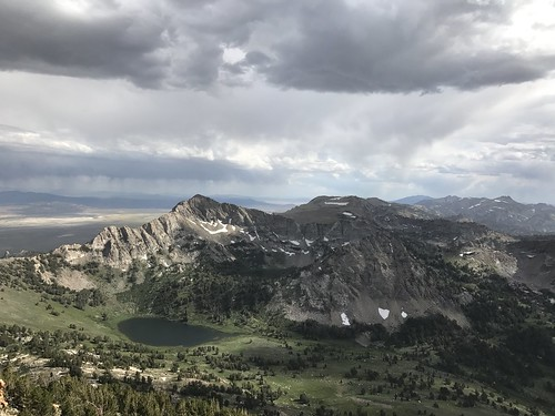 rubymountains favre favrelake castlelake nevada thunderstorms weather vurga virga ruby mountains nevadaweather