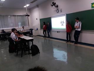 Biologia: seminário sobre documentários- 9º ano (ago/2017)