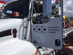 Hawaii Electric Light participates in Touch-A-Truck - August 12, 2017: Check out our cool vehicles!