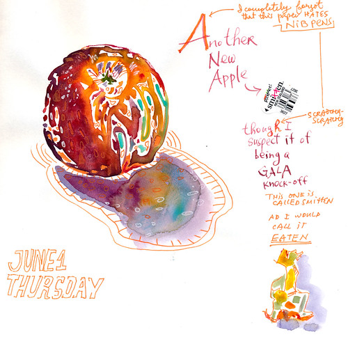 Sketchbook #105: Apple
