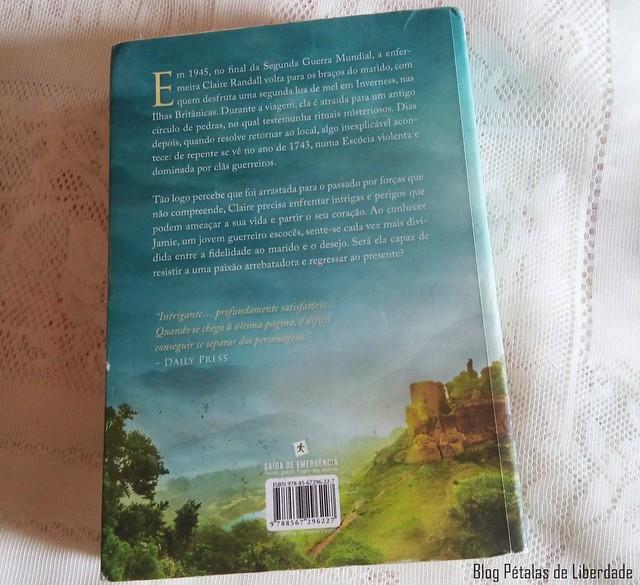Livro Outlander, a viajante do tempo, Diana Gabaldon (4)