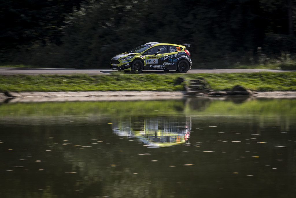 29 NEMET Laszlo (HUN) SZEGO Anos (HUN) Ford Fiesta R5 action during the 2017 European Rally Championship ERC Barum rally,  from August 25 to 27, at Zlin, Czech Republic - Photo Gregory Lenormand / DPPI
