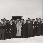 1956 Jugend im Pfarrhof