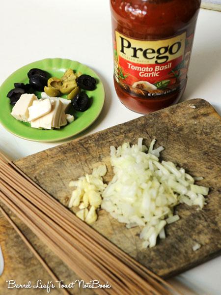 番茄羅勒橄欖豆腐義大利麵 (1)