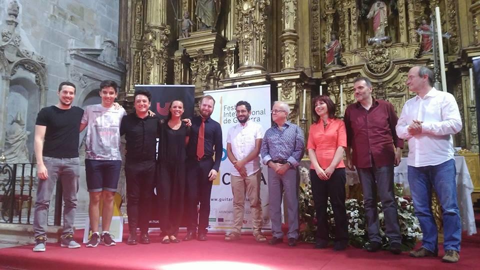 La italiana Giulia Ballarè vence en el Concurso de Guitarra del Festival Internacional de Coria