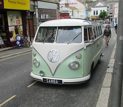 1964 VW Type 2 Splitscreen with appropriate registration.