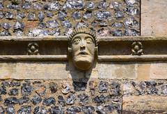 grim-faced man (15th Century)
